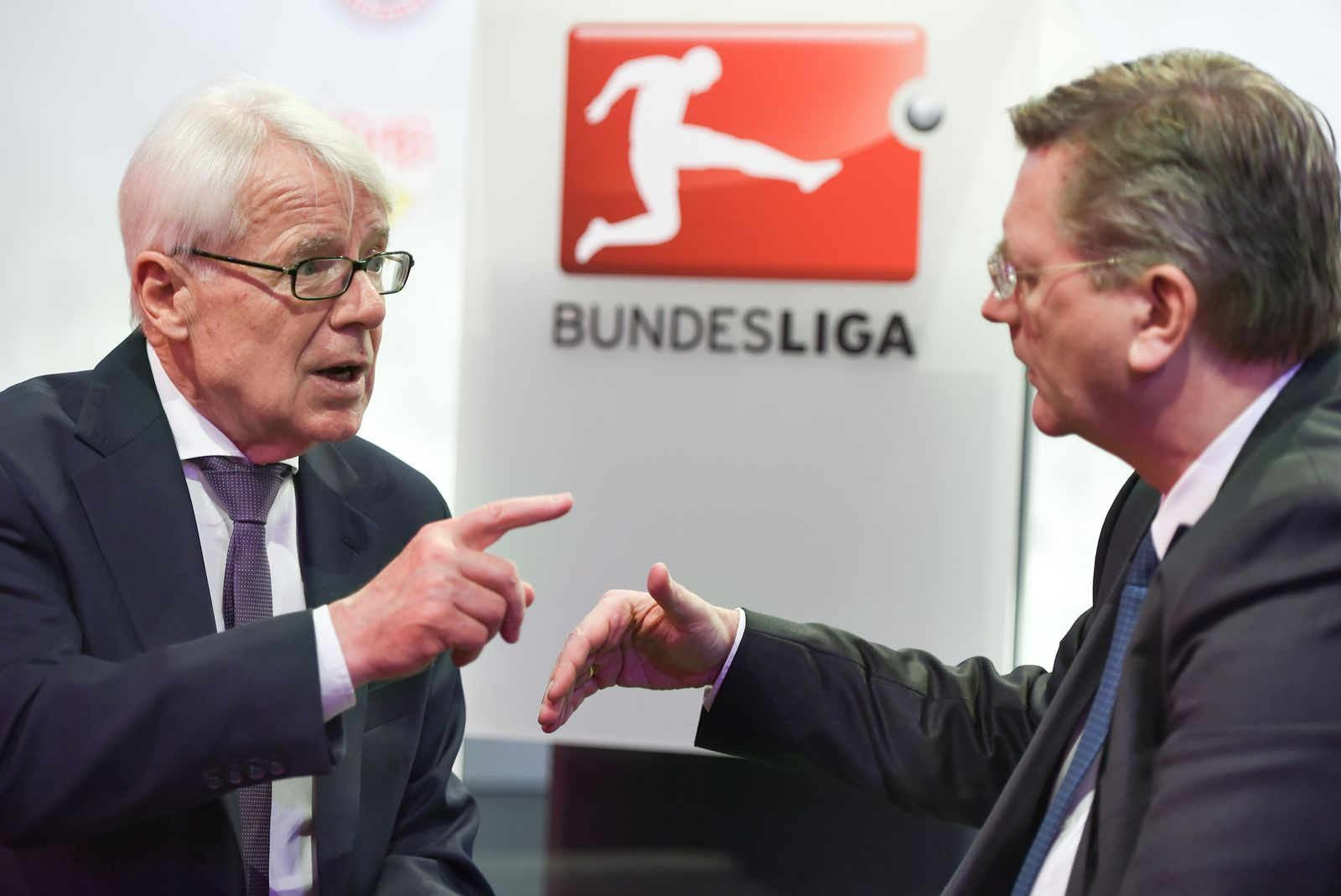 Reinhard Rauball und Reinhard Grindel