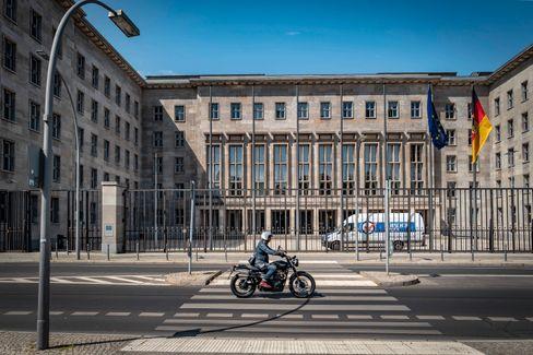 Bundesfinanzministerium in der Berliner Wilhelmstraße