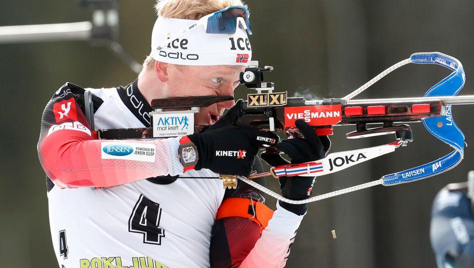 Biathlon-Star Johannes Thingnes Bö: Von Vater- und Medaillenfreuden