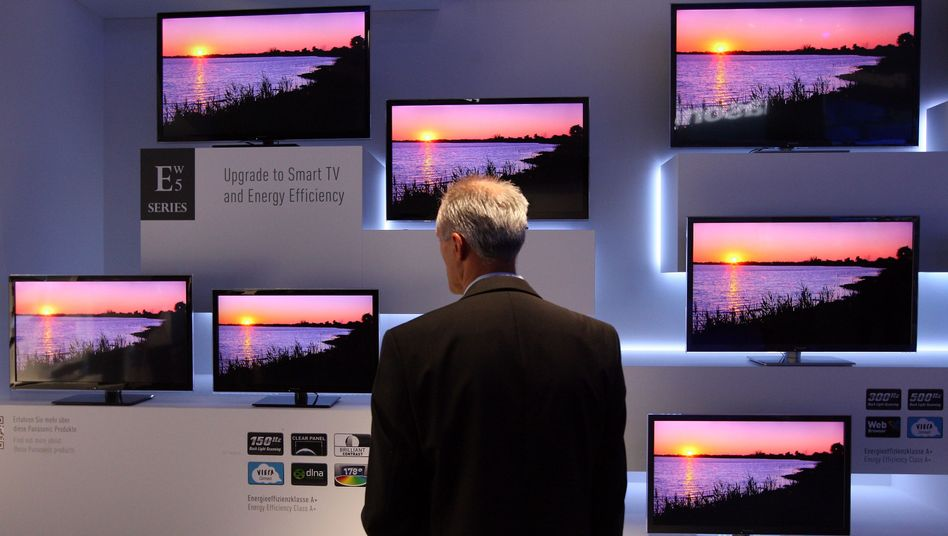 Fernseher auf der Ifa in Berlin