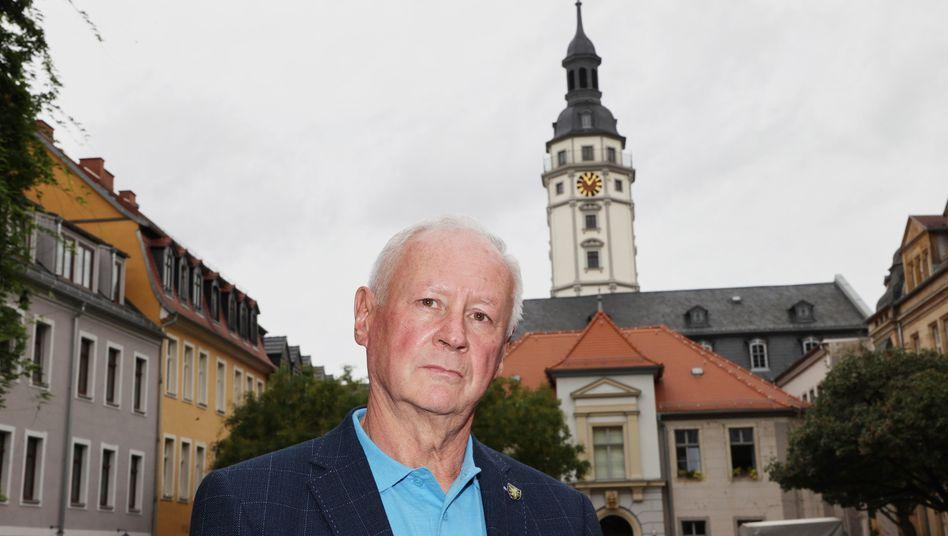 Der neue Stadtratsvorsitzende in Gera: Reinhard Etzrodt (AfD)