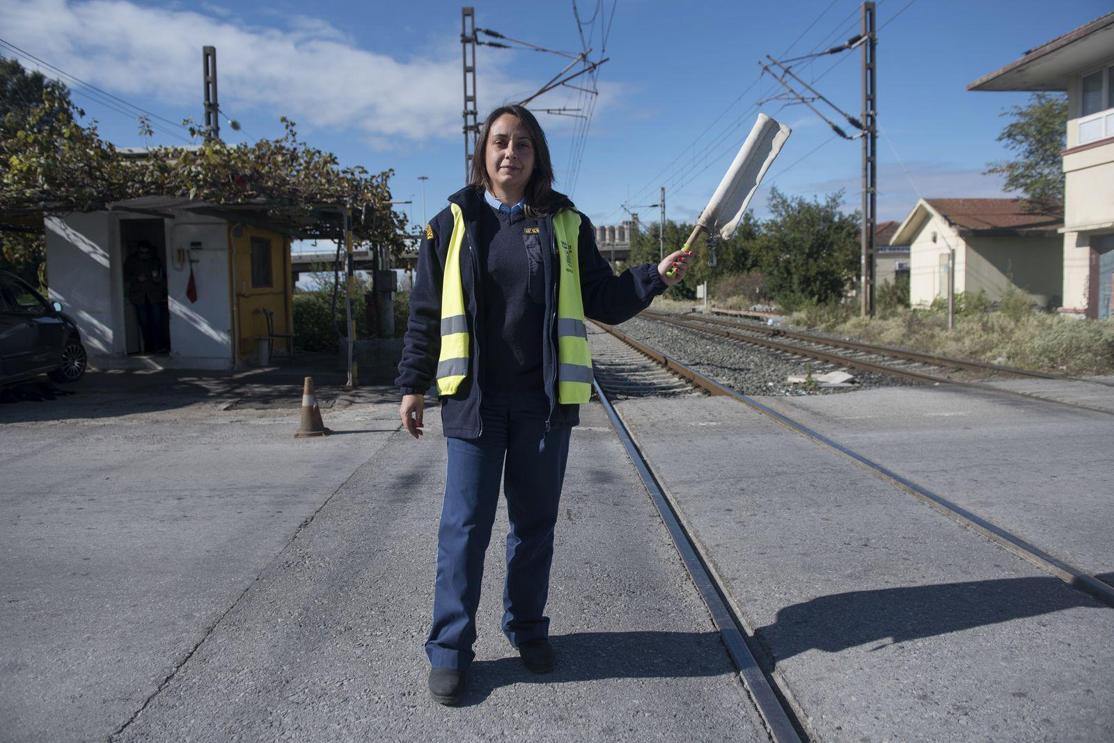 EINMALIGE VERWENDUNG Griechenland/ Arbeit/ Portrait/ CHRISTIDES
