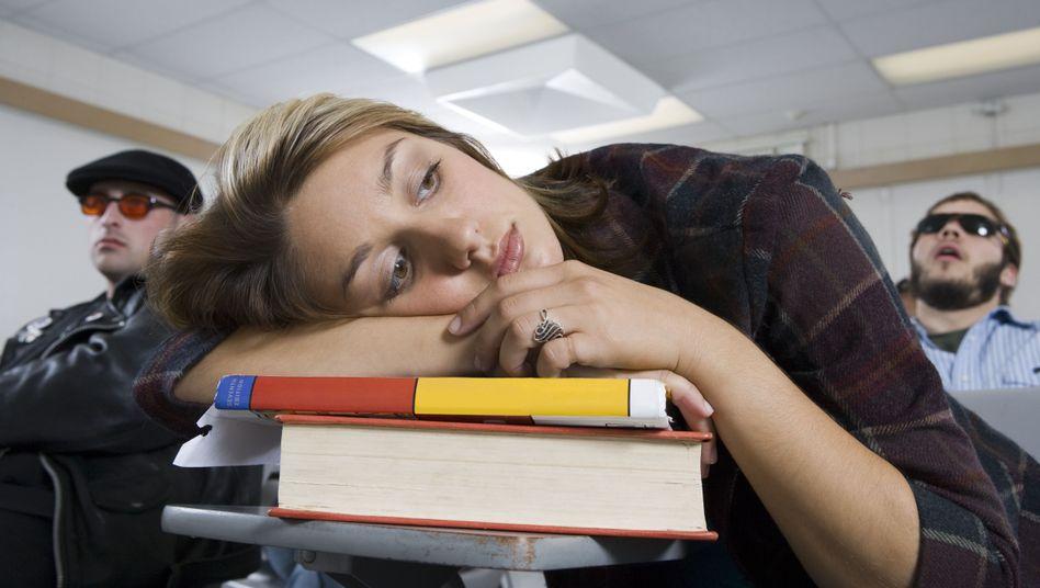 Zu Stress führt das Studium erwartungsgemäß vor allem, wenn es um Noten geht