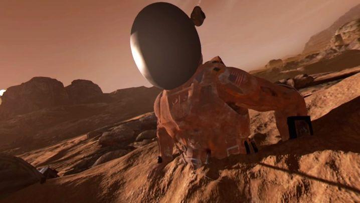 """""""Der MarsianerVR"""": So sieht es auf dem Mars aus"""