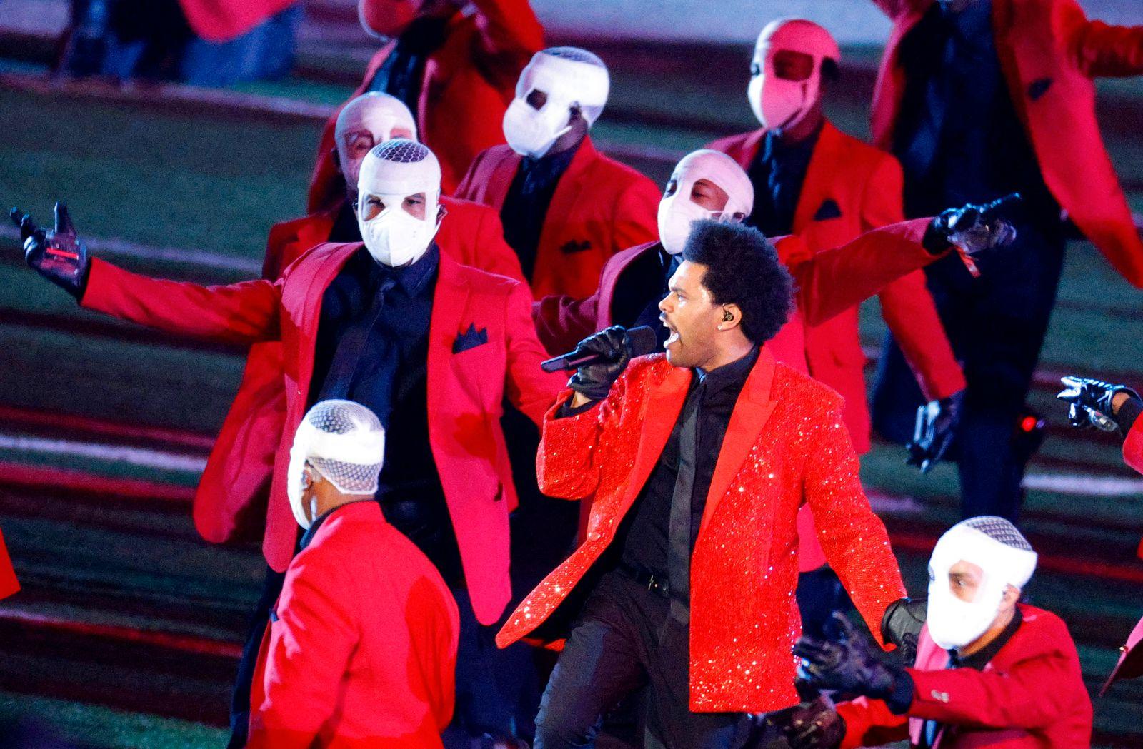 Super Bowl LV Halftime Show - Tampa Bay Buccaneers v Kansas City Chiefs