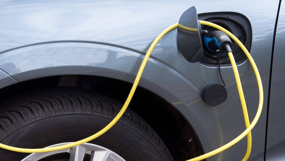E-Auto am Ladekabel: »Der Aufholbedarf wird täglich größer«