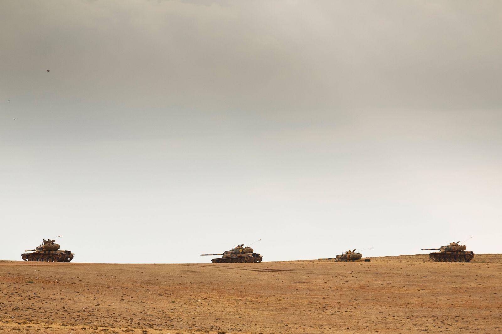 Syrien/ Panzer/ Bodentruppen