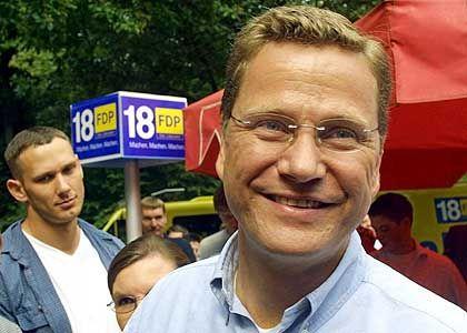 Guido Westerwelle: Talent für publicity-trächtigen Wahlkampf