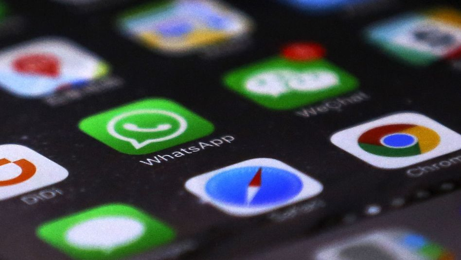 Apps auf dem Handybildschirm