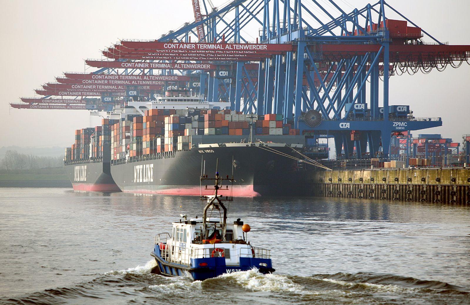 Hamburg / Hafen / Altenwerder