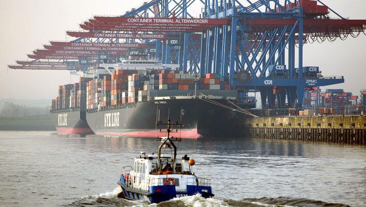 Fotostrecke: Riesen-Frachter und Super-Terminals