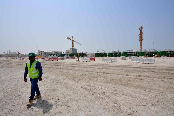 Bauarbeiter in Katar