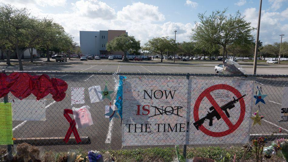 Gedenken an die Opfer des Schulmassakers
