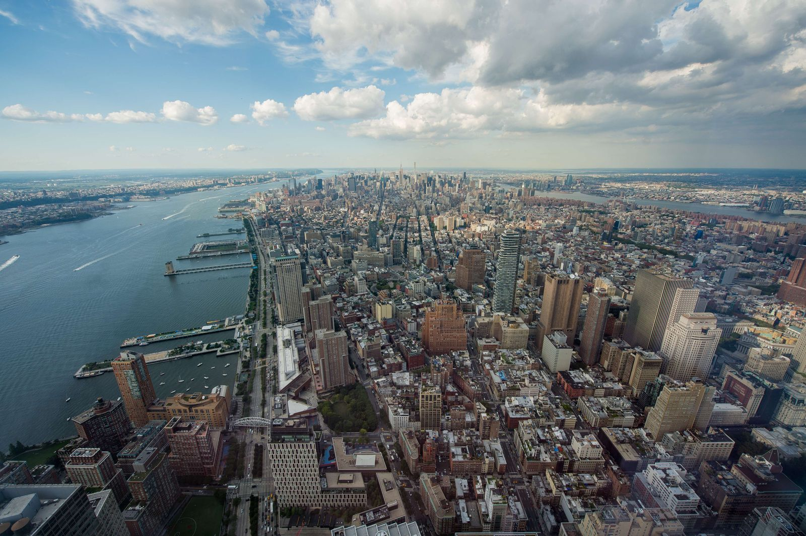 New York aus der Luft