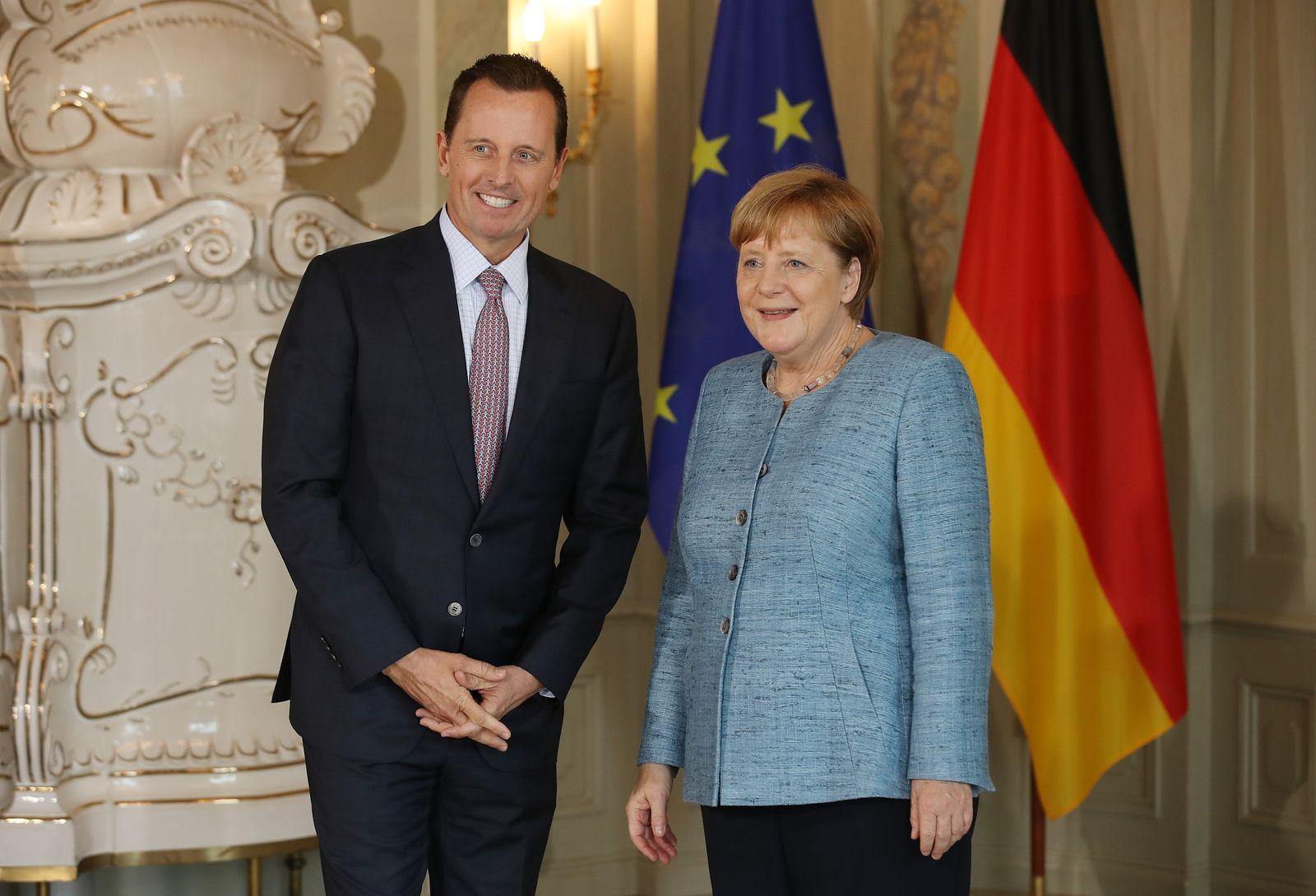 Richard Grenell Angela Merkel