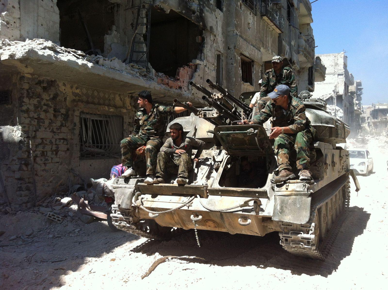 Syrien / Flak