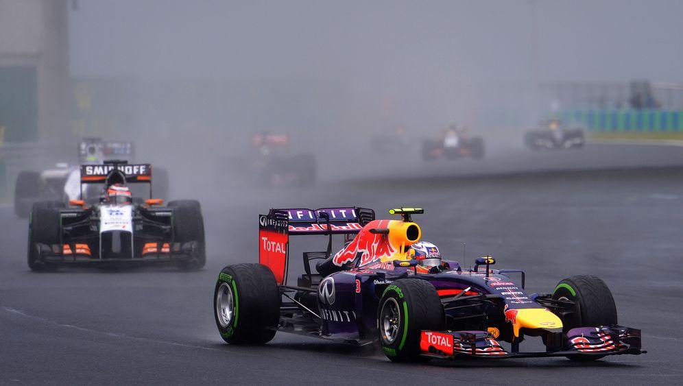 Formel 1 in Ungarn: Ricciardo siegt auf den letzten Runden