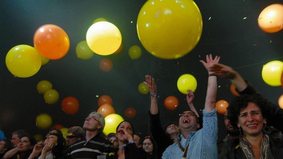 Konzertbesucher beim »Rolling Stone Weekender« an der Ostsee: Drinnen ist das neue Draußen