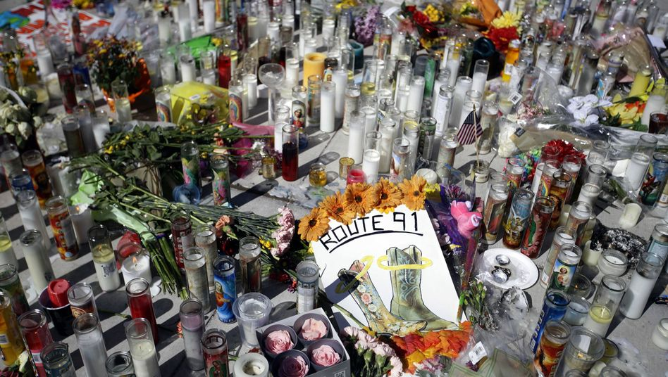 Gedenkstätte für die Opfer von Las Vegas