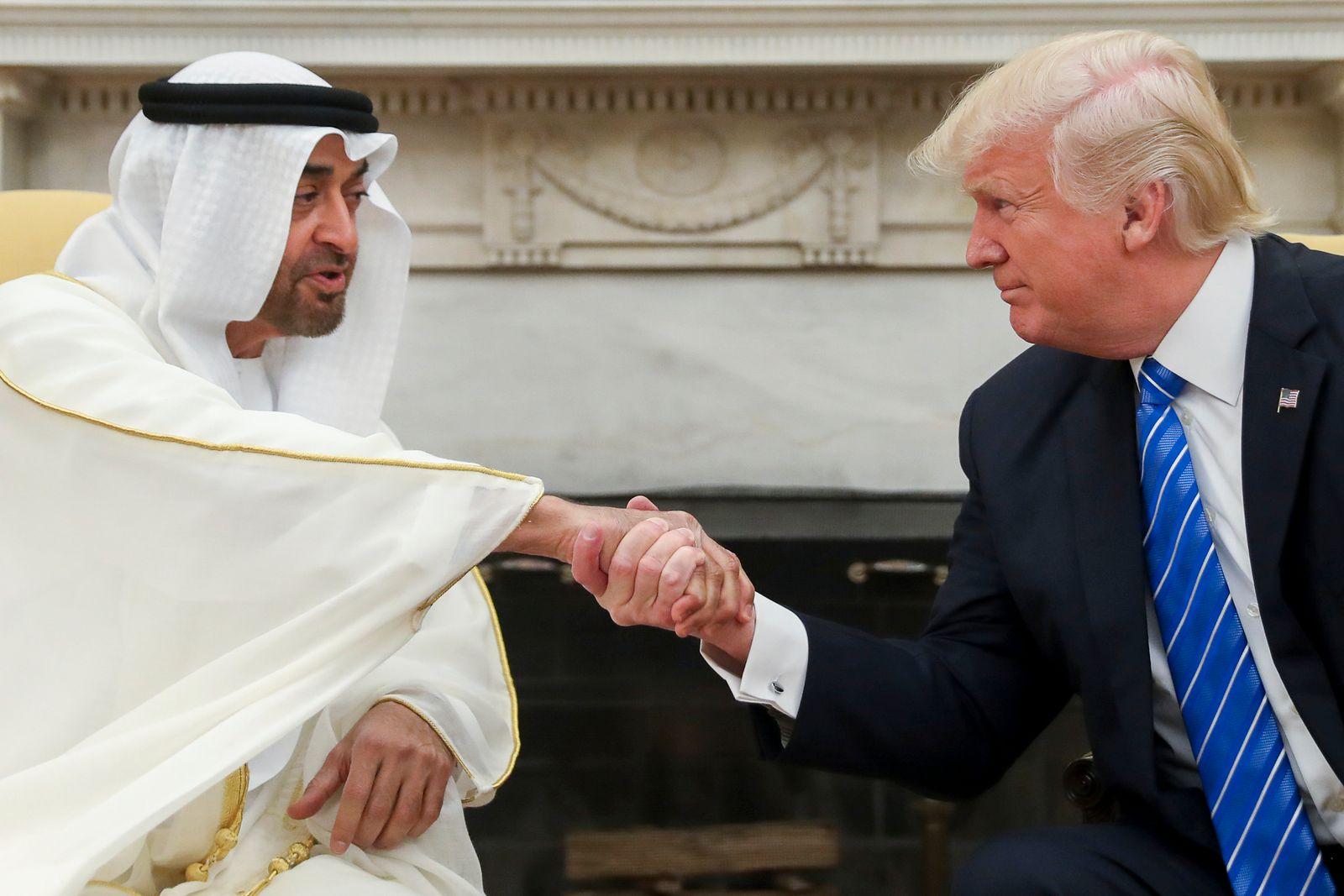 Donald Trump, Mohammed bin Zayed Al Nahyan