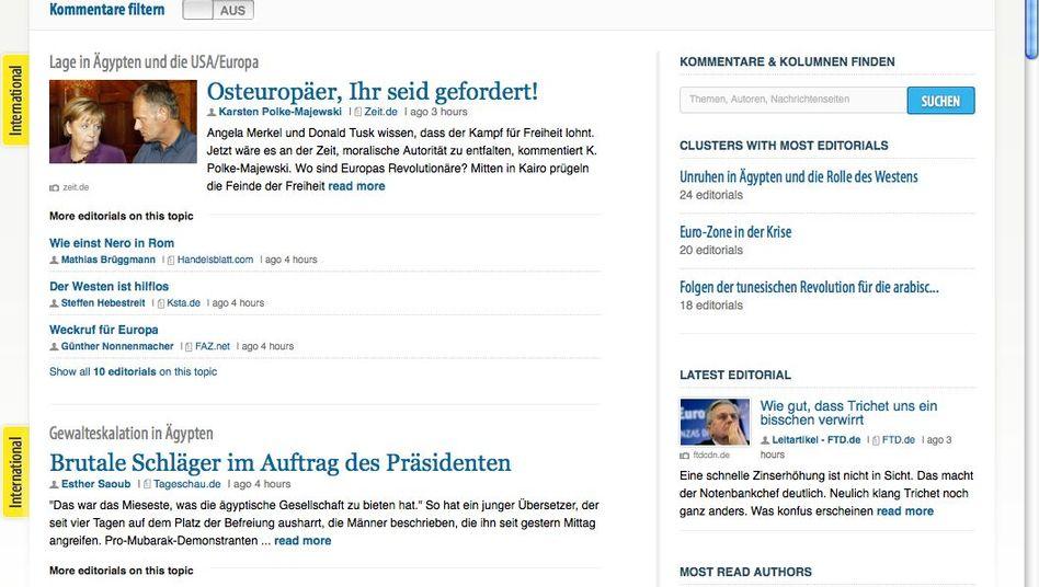 commentarist.de: Im Januar gestartet, im Februar Zwangspause