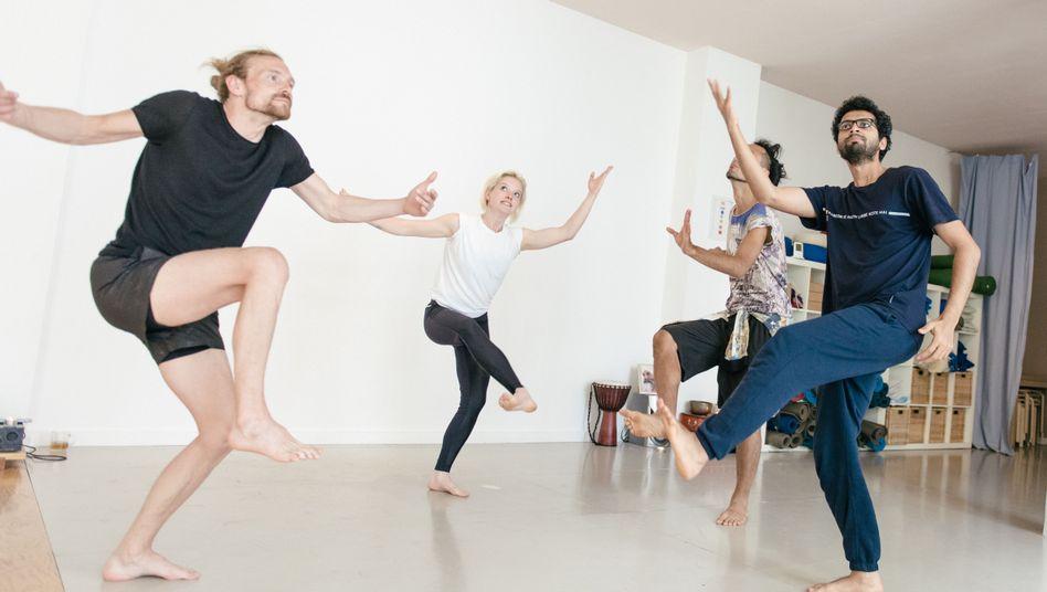 Besuch beim Butoh-Yoga