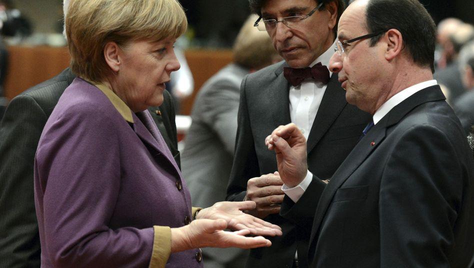 Merkel und Hollande: Telefonbeschwerden bei Obama