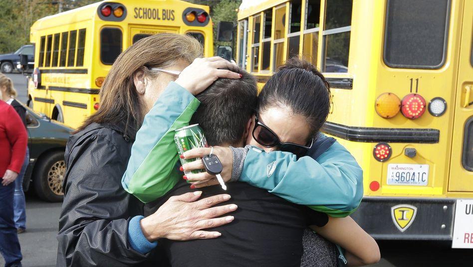 Marysville: Schüler schießt an Highschool um sich - zwei Tote
