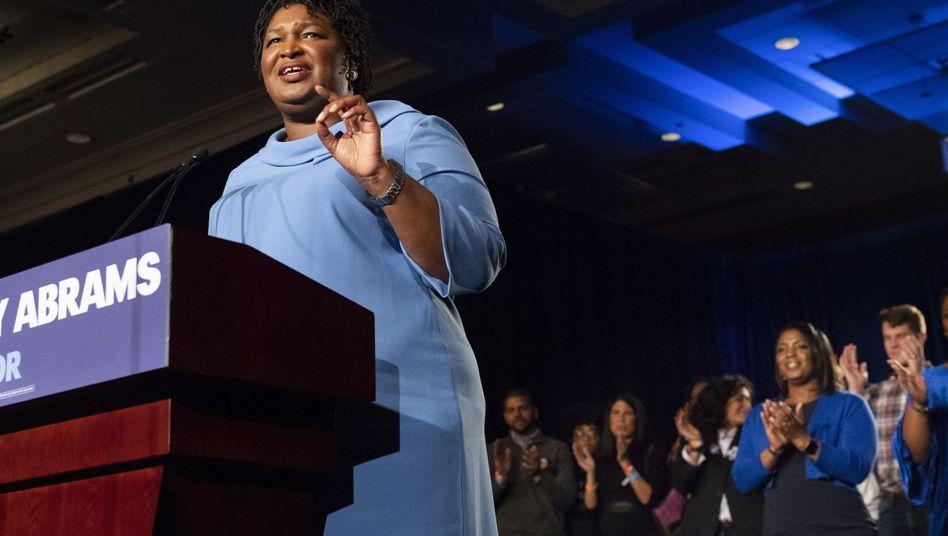 Stacey Abrams, Gouverneurskandidatin im US-Bundesstaat Georgia