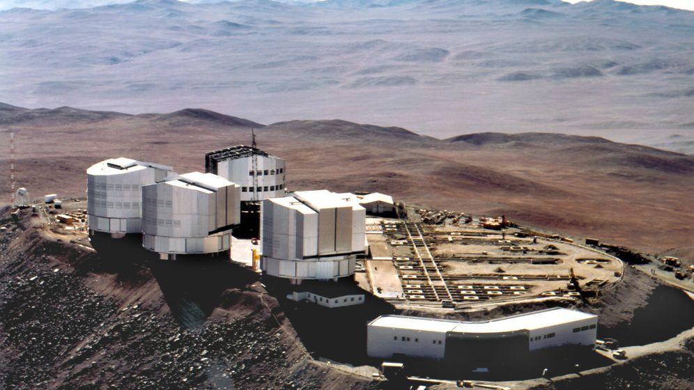 Very Large Telescope: Superauge in der Einsamkeit