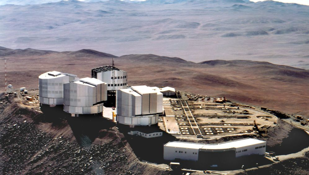 Very Large Telescope: Superauge in der Einsamkeit