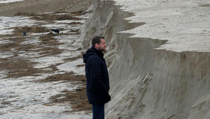 Strand ohne Sand