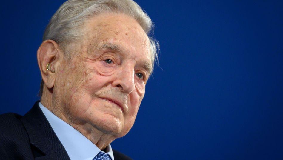 George Soros hält das Verhältnis der Supermächte China und USA für entscheidend für den Ausgang der Weltgeschichte.
