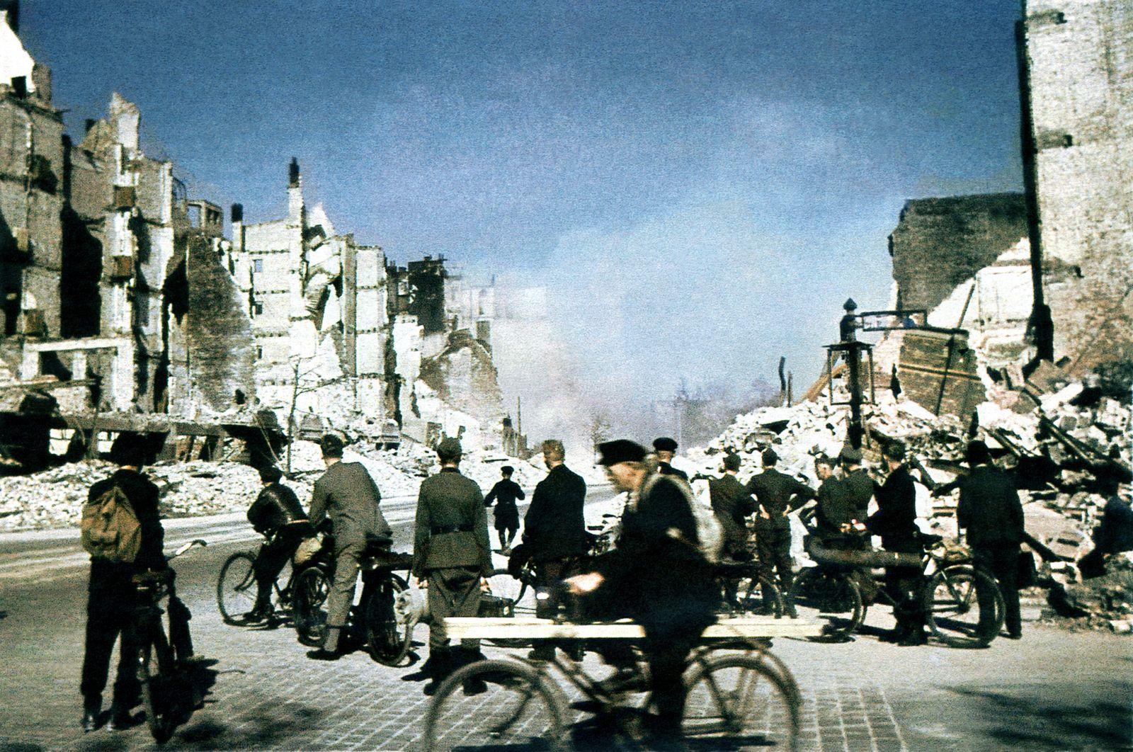 Hamburg Bombing 1945