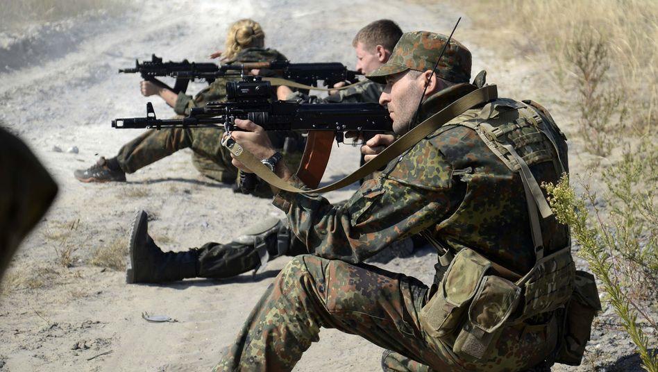 Ukrainische Soldaten: Streit über die Berichte des deutschen Fernsehens