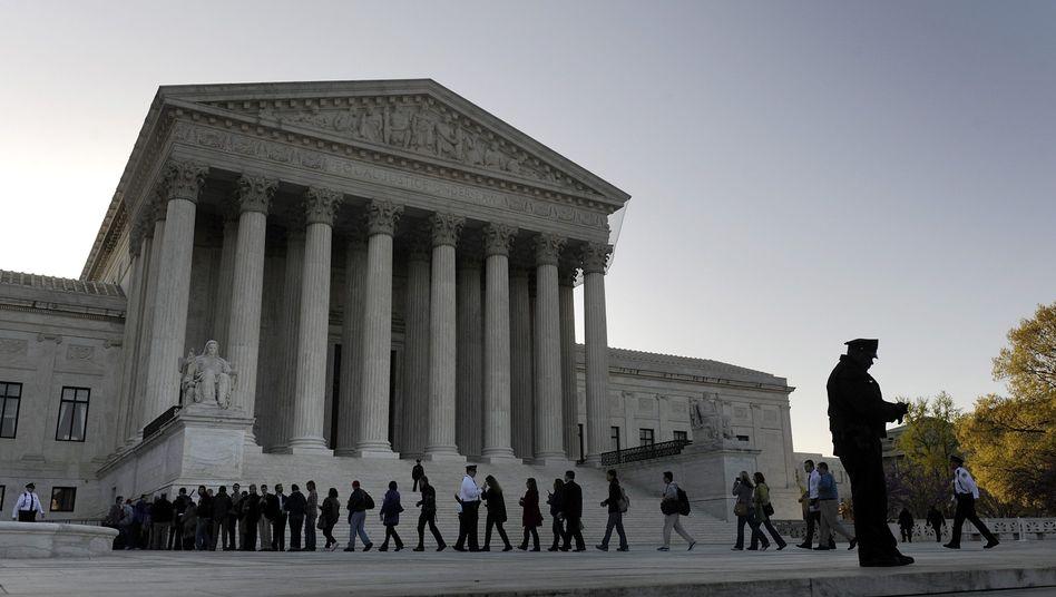 Supreme Court (Archivbild): Soll Höhe von Filesharing-Strafe prüfen