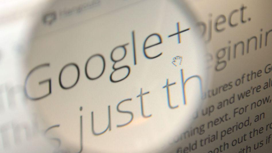 Soziales Netzwerk Google+: Auf Antrag darf man sich unter Pseudonym sozialisieren