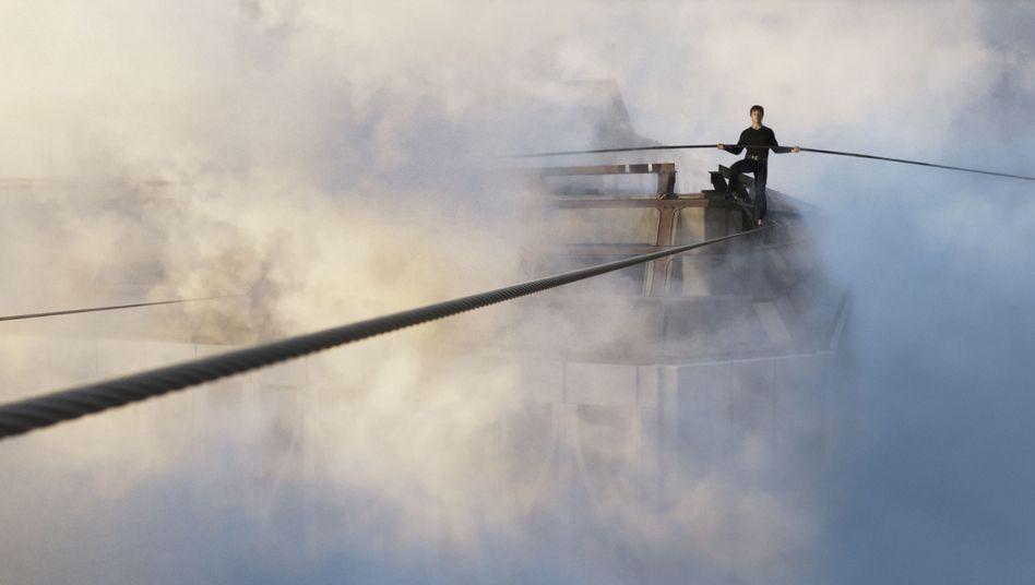 """Kino-Thriller """"The Walk"""": Das Zittern des Seils"""