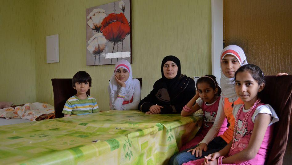 Sprachlos: Die Aljaboulis warten seit einem halben Jahr darauf, dass ihr Deutschkurs anfängt