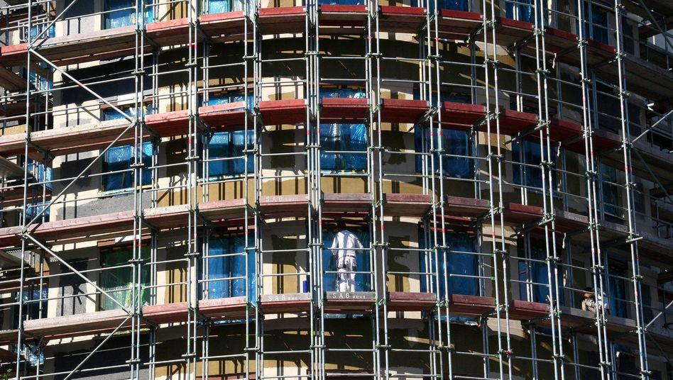 Im Berliner Stadtteil Prenzlauer Berg werden Mitte 2018 Eigentumswohnungen gebaut
