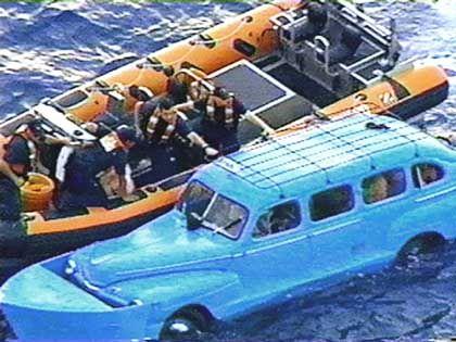"""Flucht übers Meer im umgebauten Taxi: """"Die Kubaner wollen andere Lebensumstände"""""""