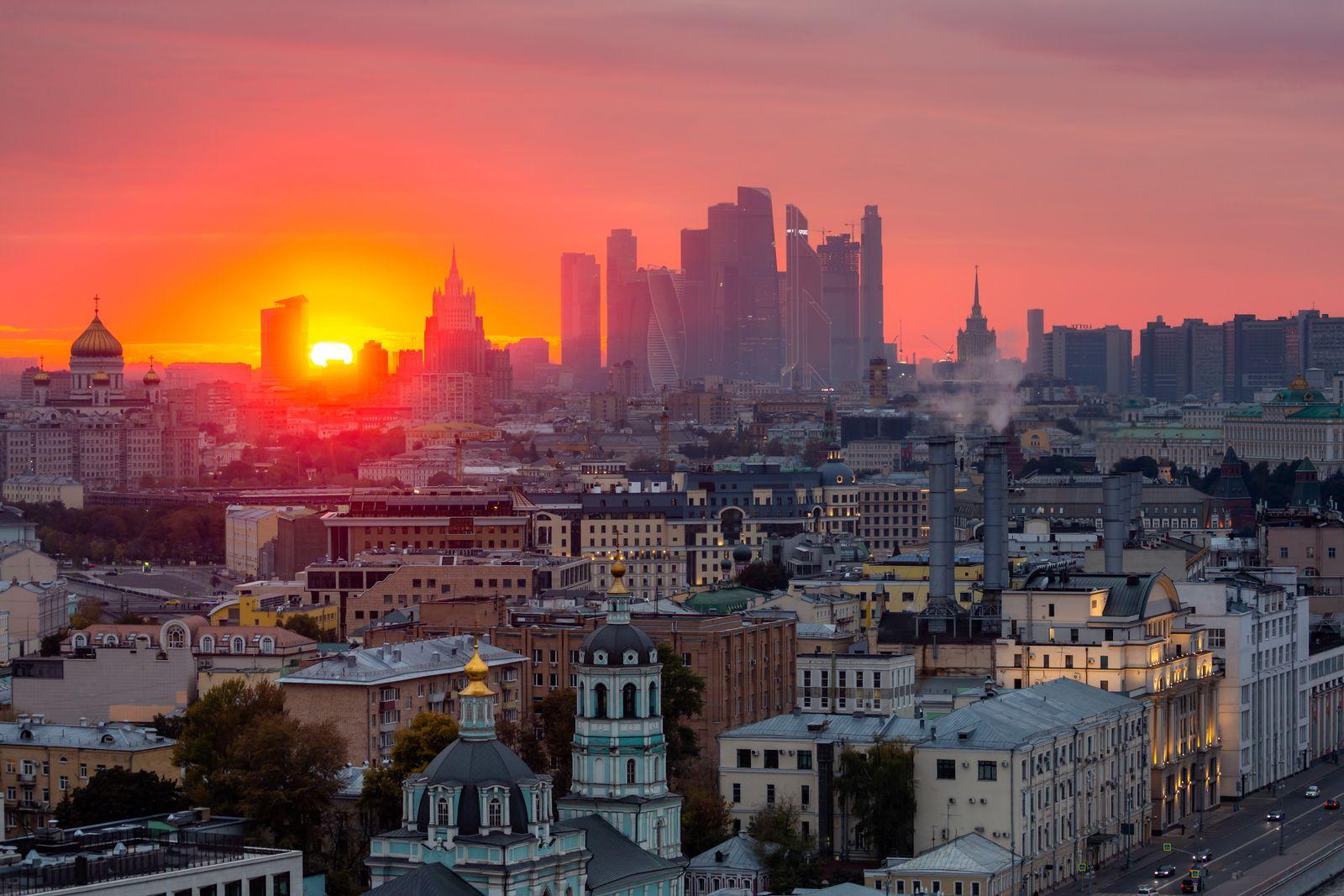 EINMALIGE VERWENDUNG Moskau