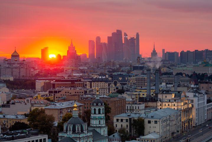 Skyline von Moskau: Mit Immobiliendeals will der Assad-Clan sein Vermögen sichern