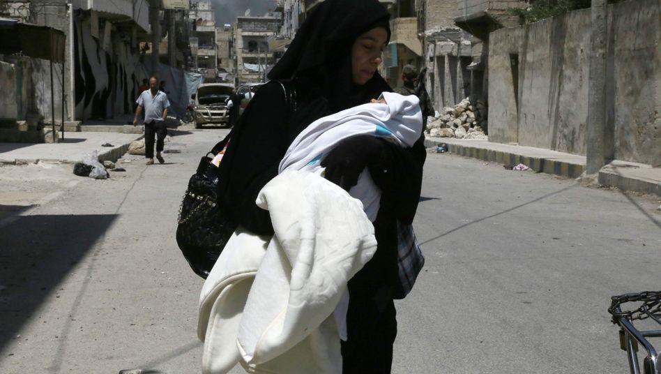 Syrerin in Manbidsch