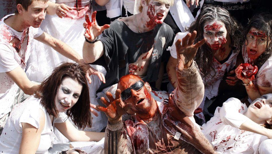 Touristen als Zombies? Versteht jeder Pauschalurlauber. Leser von Horror-Romanen auch