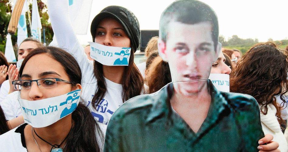 Demonstration für Schalit
