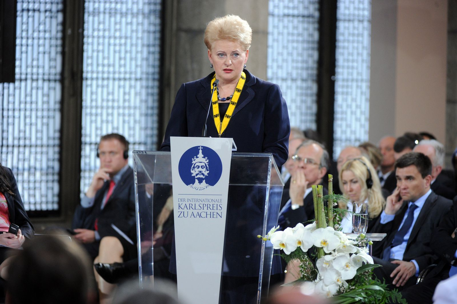 Karlspreis 2013/ Dalia Grybauskaite