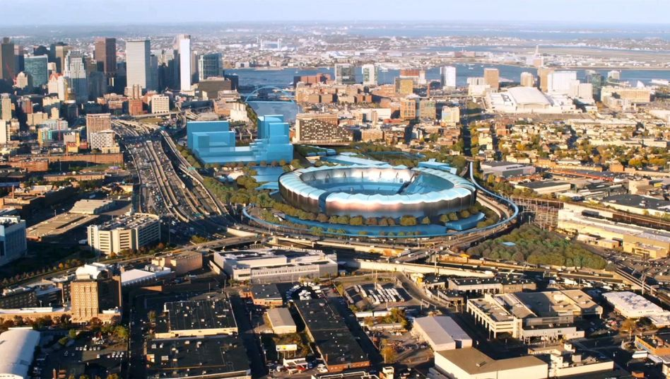 Olympia-Planung in Boston: So soll das Olympiastadion 2024 aussehen