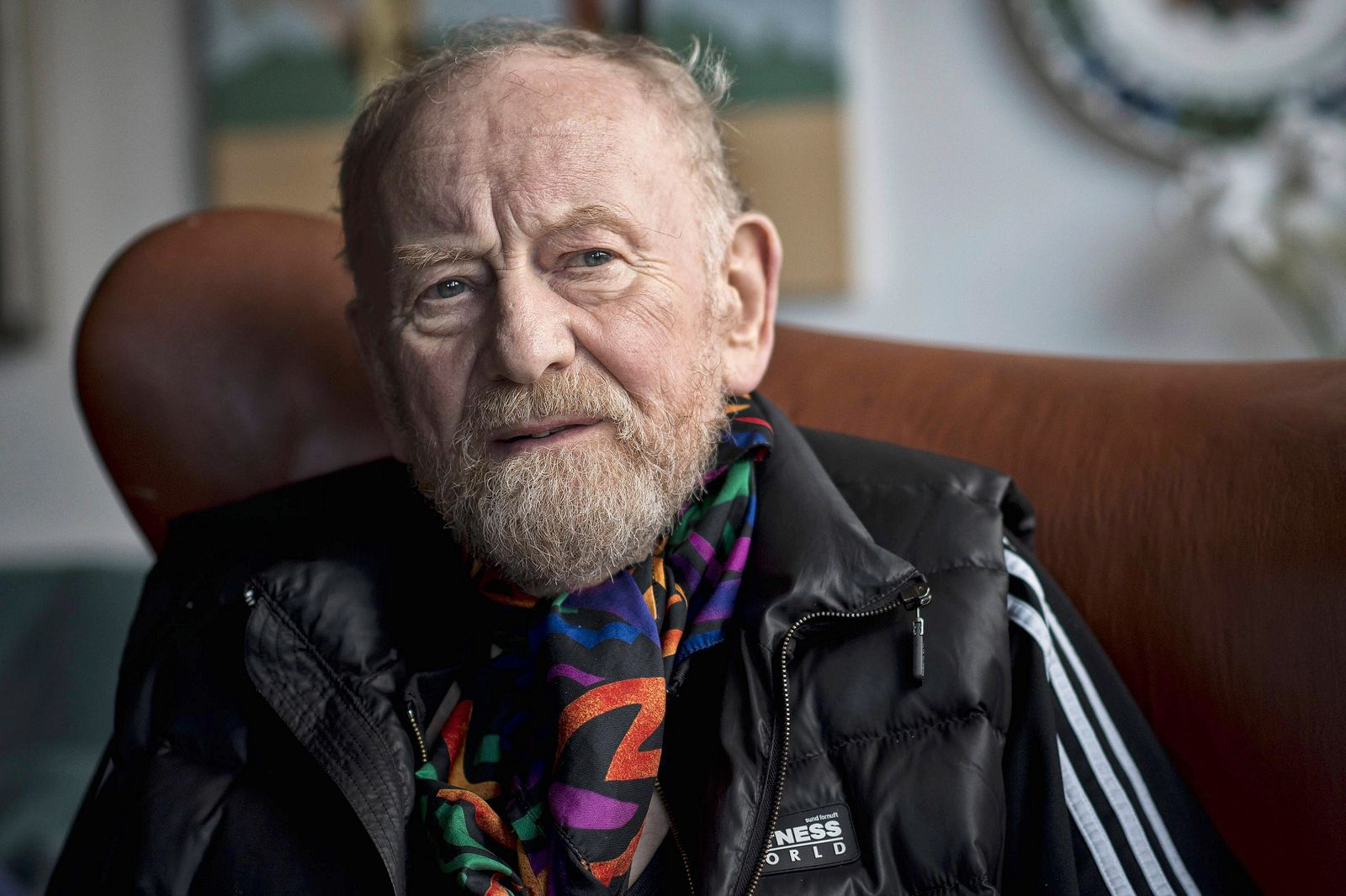 - VIBY, DENMARK: Danish cartoonist Kurt Westergaard poses for the photographer in his house in Viby J., near Aarhus, De