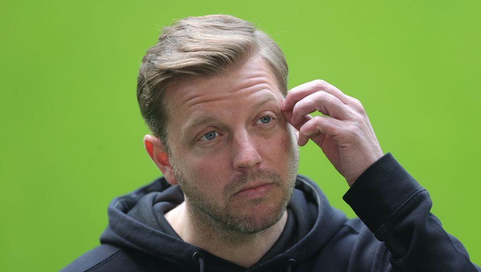 Werder-Trainer Florian Kohfeldt sah schon wieder ein enorm fehlerreiches Spiel seiner Bremer